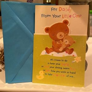 3/$5 Father's Day from Baby Greeting Card